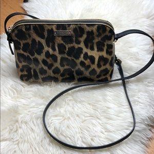 Kate Spade Leopard crossbody purse